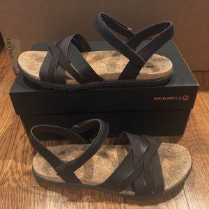 Merrell Around Town Sandals Size 9 New